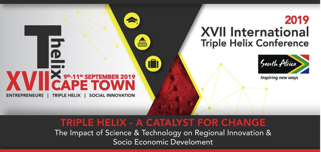 Call for papers for the XVII International Triple Helix Conference 2019 in South Africa