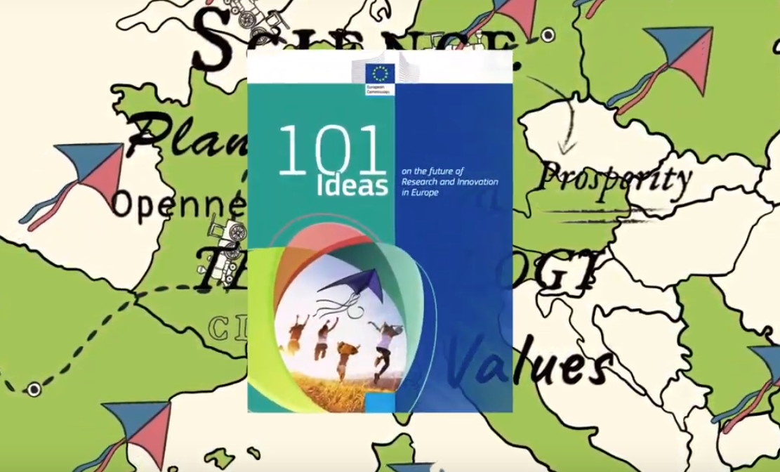 101 Ideas on the future of Research and Innovation in Europe
