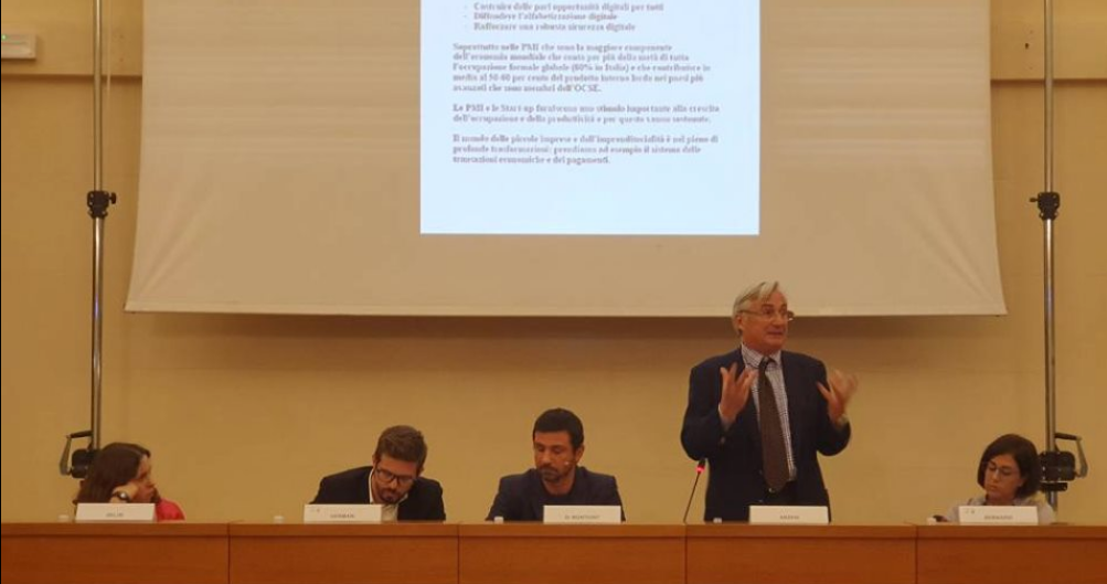 INSME President at the International Meeting of Young Entrepreneurs in Udine
