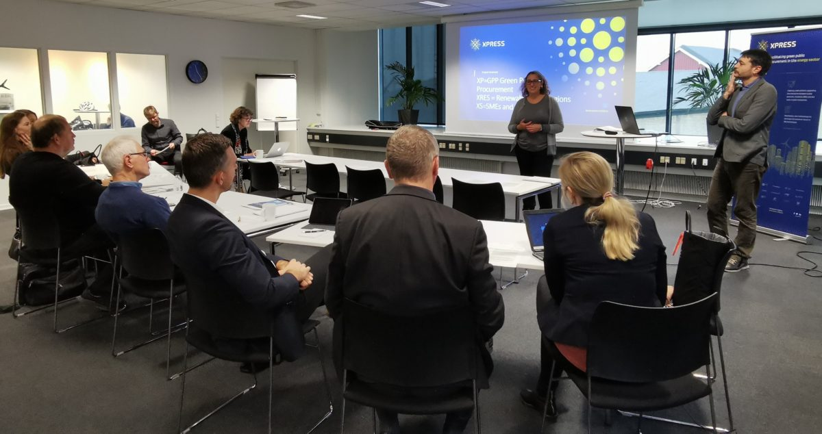INSME organizes a co-creation workshop on green public procurement in the United Kingdom