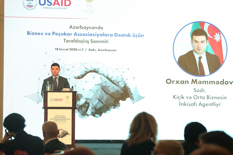 A new initiative to support business and professional associationsin Azerbaijan