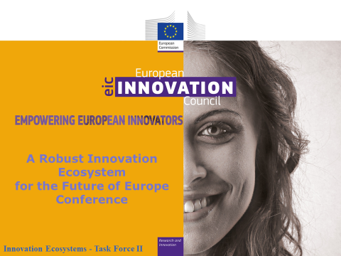 """The EU High level Conference """"A Robust Innovation Ecosystem for the Future of Europe"""""""