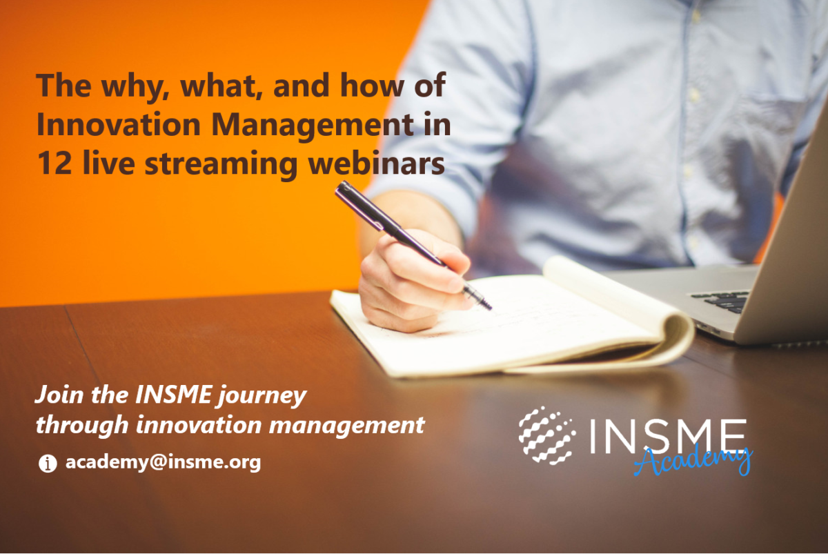"""The journey through the """"why, what and how of innovation management"""" continues!"""