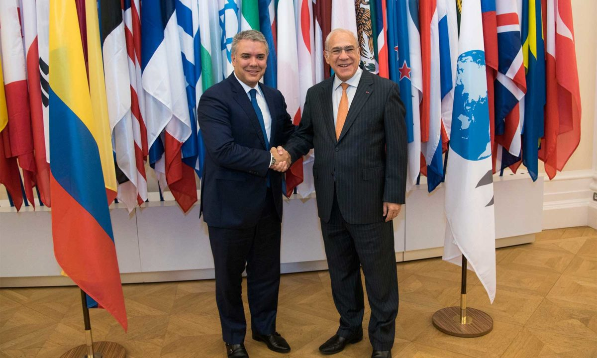 Colombia joins the OECD and becomes its 37th member country