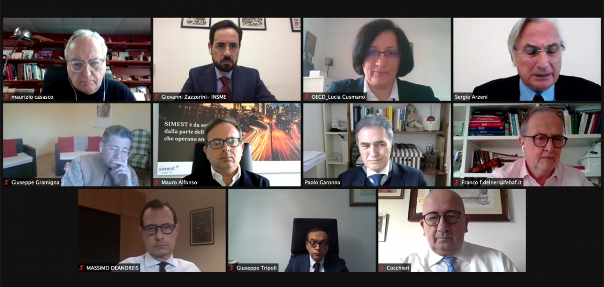 Italian INSME members discuss the best support policiesfor the post-Covid era