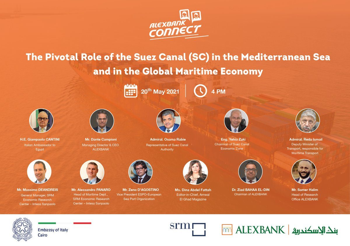 Read the SRM's Report on the Suez Canal