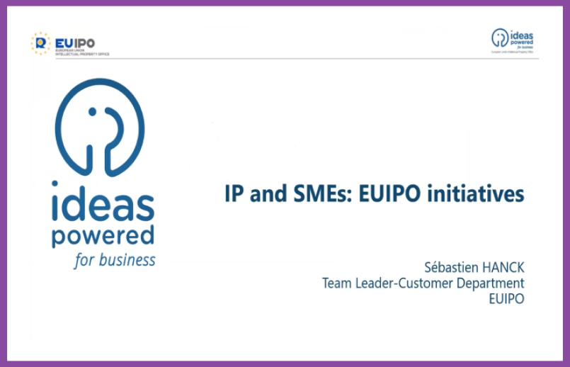 """""""The Management of IPRs in Tech Transfer"""": insights from EUIPO's webinar"""