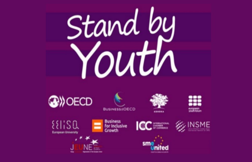 INSME supports the OECD's Stand by Youth initiative