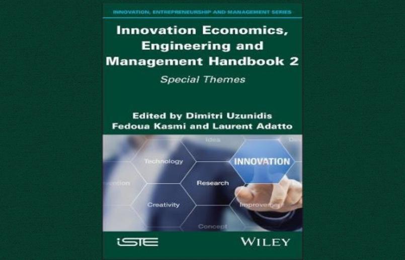 Innovation Economics, Engineering and Management Handbook just published