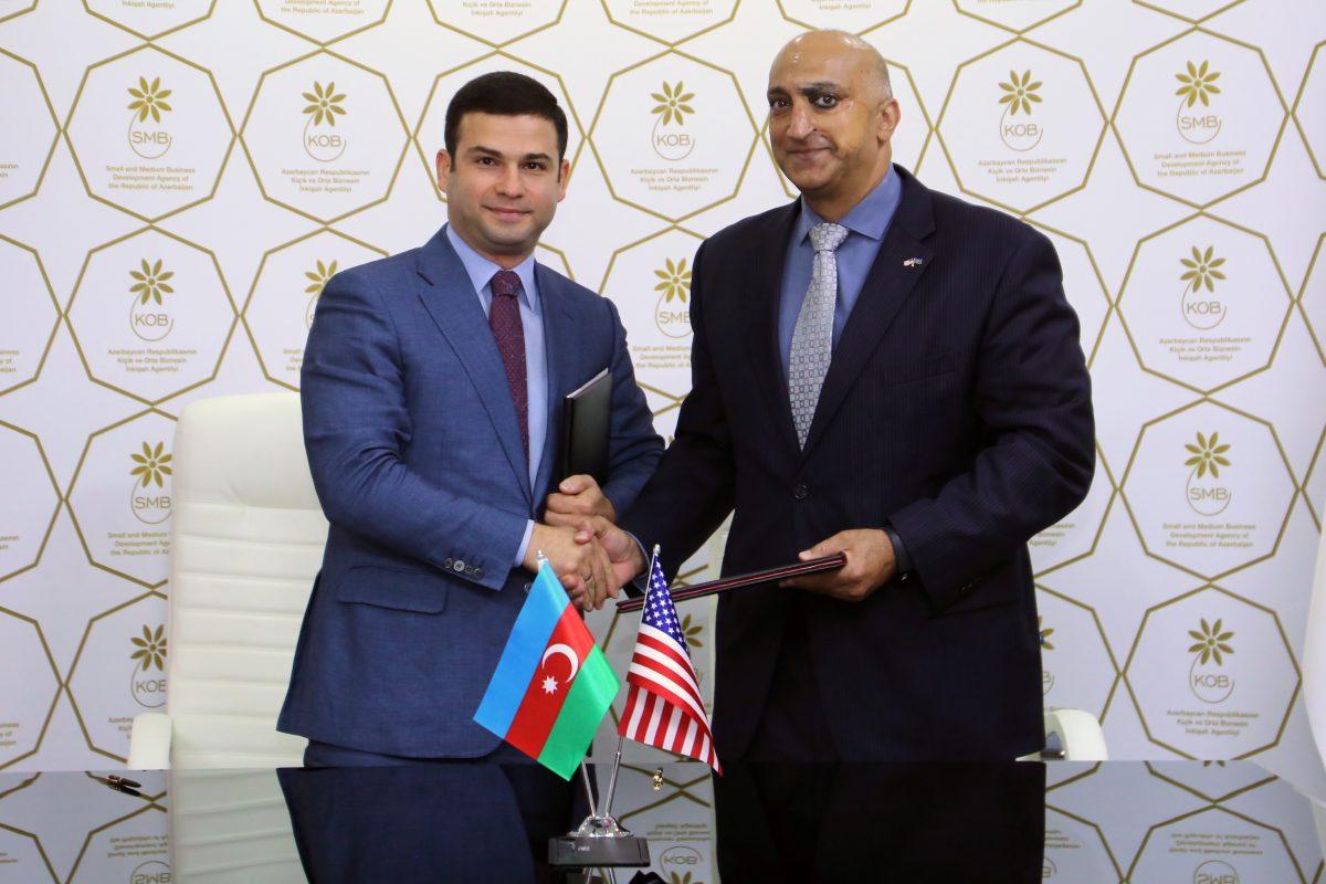 SMBDA and USAID sign a Memorandum of Understanding