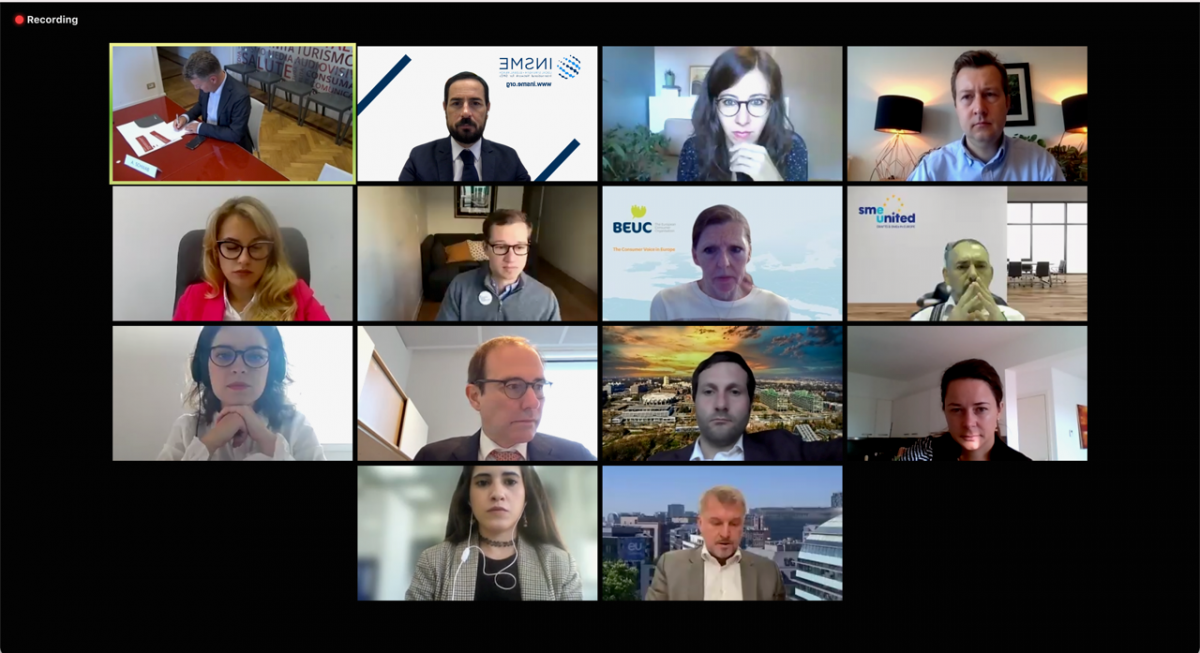 Exploring the EU Digital Markets Act: INSME Secretary General attending the I-Com VideoTalk