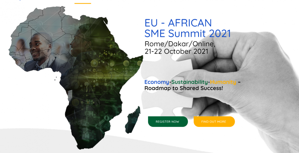 Register to the EU-African SME Summit, 21-22 October 2021