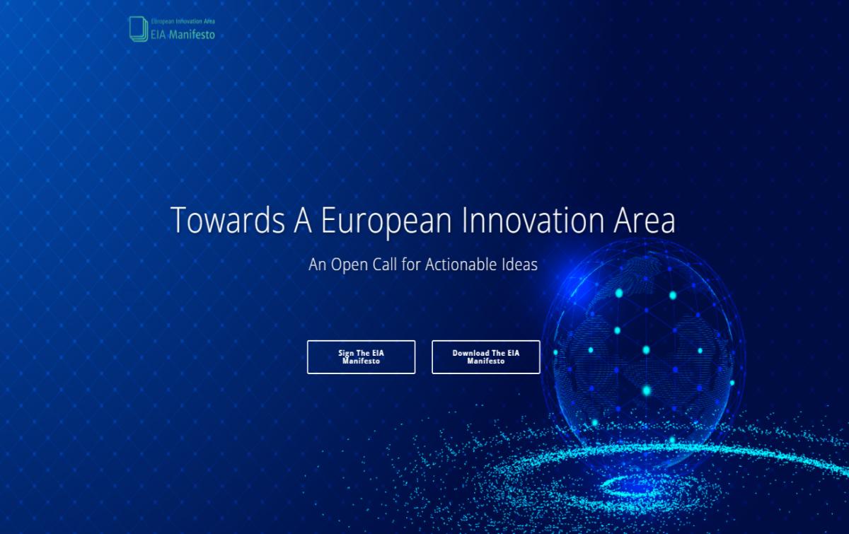 Sign into the European Innovation Area Manifesto.