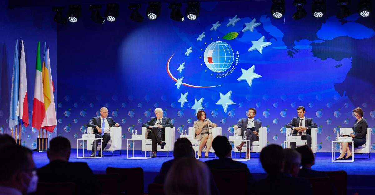 INSME's President attends the 30th Economic Forum in Karpacz, Poland